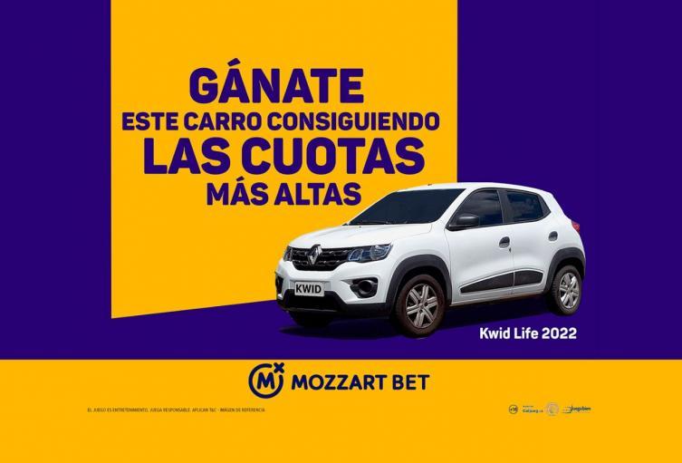 Gánate un carro con Mozzart Bet
