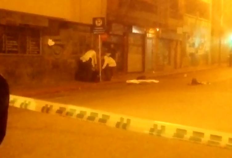 Homicidio en el centro de Medellín