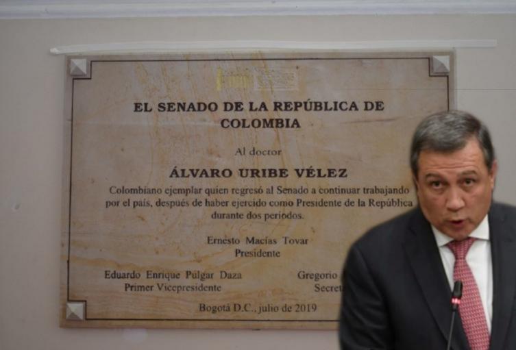Corte Suprema se abstiene de investigar a Ernesto Macías por placa de Uribe en el Congreso