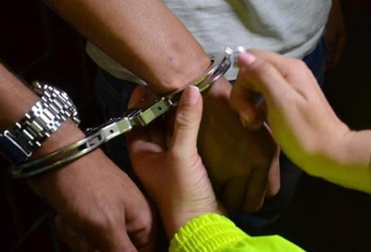 La víctima fue extorsionada informó la Fiscalía General de la Nación.