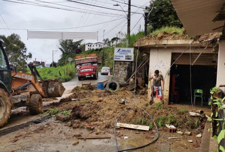 Afectaciones por las lluvias en Antioquia.