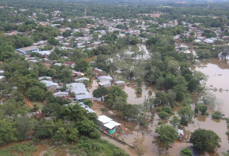 Emergencias por las lluvias en El Bagre, Antioquia.