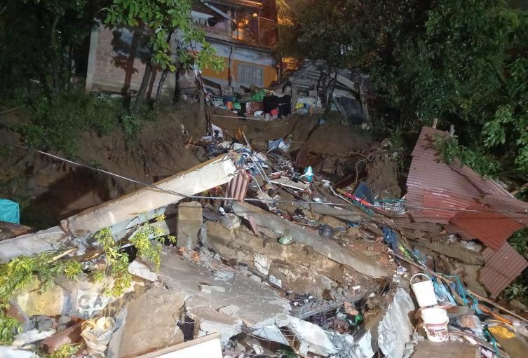 Referencia emergencia por las lluvias en Medellín.