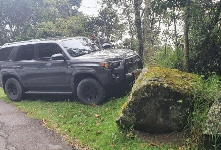 De película resultó el hurto de camioneta en el corregimiento de Santa Elena