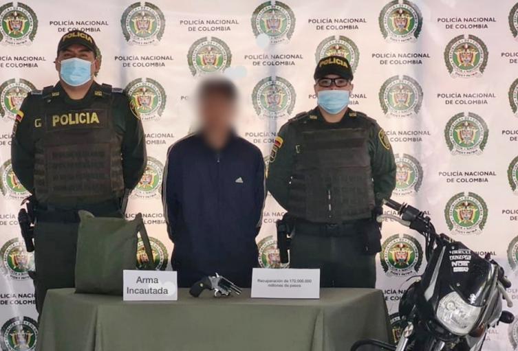 Comerciante da muerte a fletero, mientras que la policía captura a otro en Rionegro, Antioquia