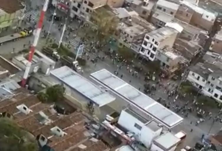 Un joven perdió uno de sus ojos en medio de nuevas manifestaciones  en Medellín