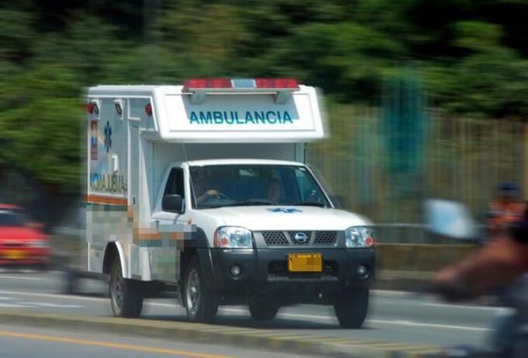 Un hombre baleado en Barbosa murió cuando era llevado en una ambulancia a Medellín