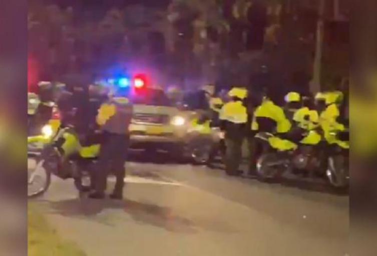 Un policía dio muerte a un fletero en persecución en el barrio El Poblado de Medellín
