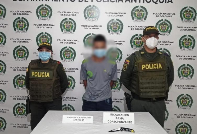 Una mujer de 22 años fue apuñalada por su novio en un atroz crimen en San Luis, Antioquia