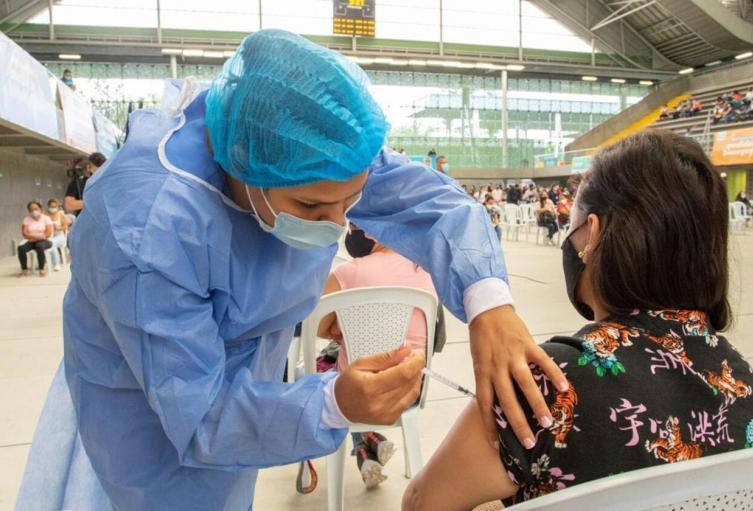 Referencia vacunación en Medellín.