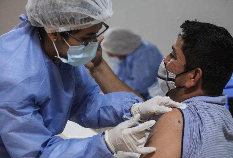 Vacunación contra covid-19 en Bogotá