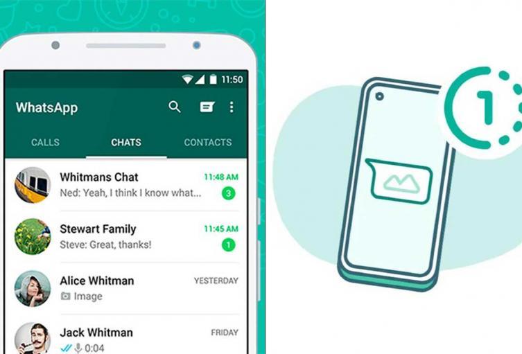 Chat de WhatsApp, imágenes que desaparecen