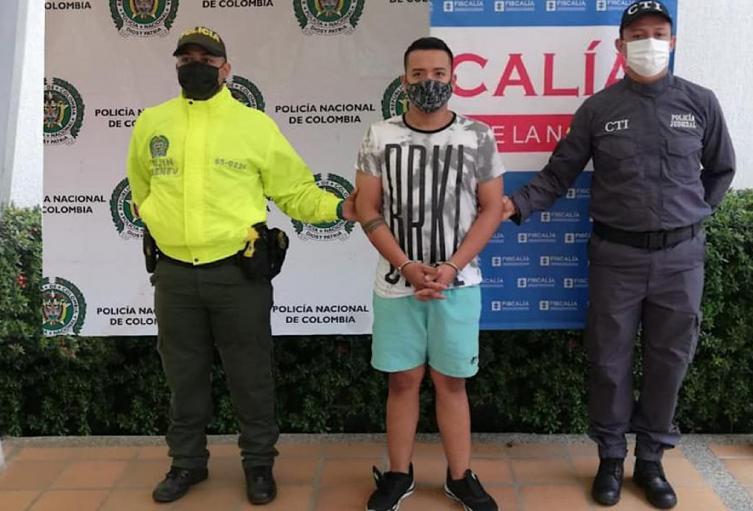 Wilson Peña Camayo Capturado