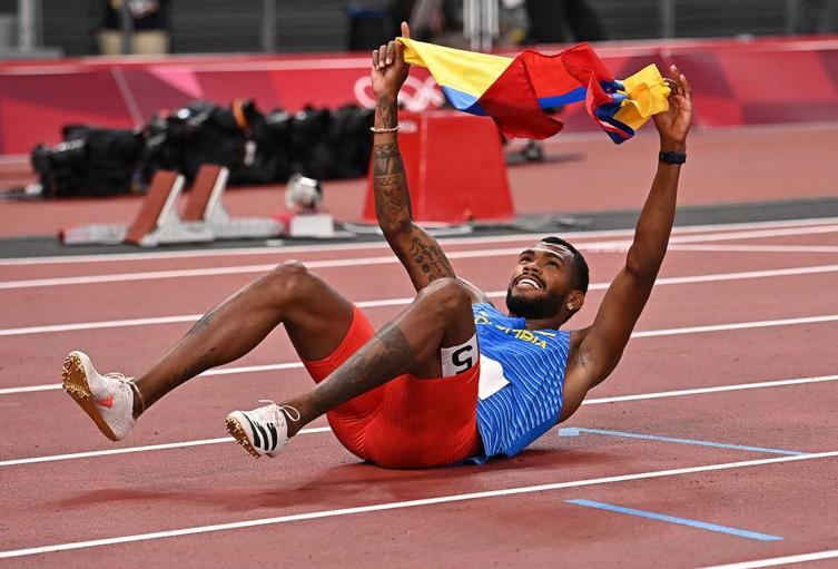 Antony Zambrano, ganador de medalla de plata en Tokio 2020