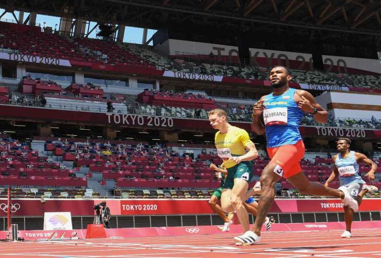 Anthony Zambrano, Juegos Olímpicos de Tokio