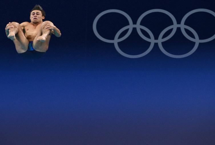 Daniel Restrepo en los Juegos Olímpicos