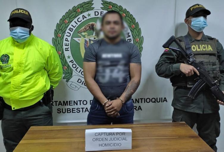 Esta persona sería el encargado del entrenamiento militar en el Clan del Golfo, informaron las autoridades.