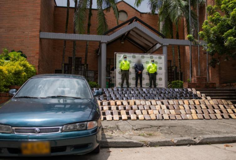 El estupefaciente estaba valorado en 600 millones de pesos, informaron las autoridades.