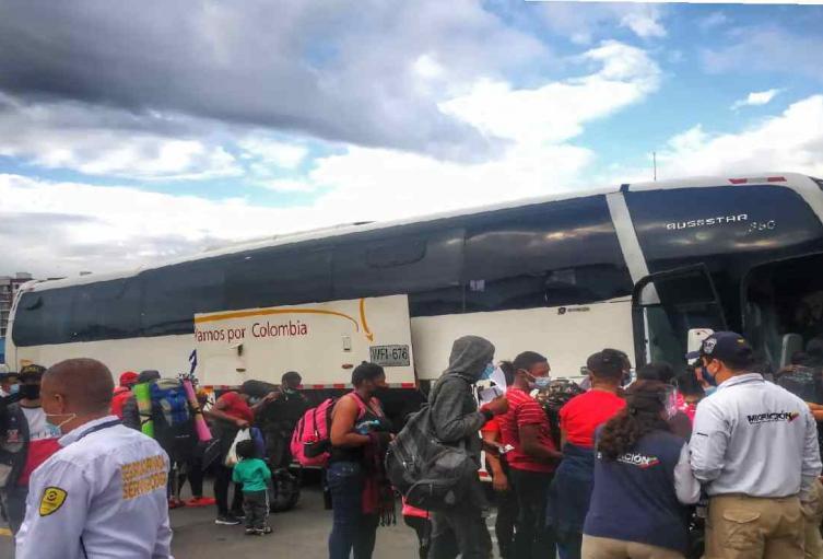 Viaje desde Cali a Medellín
