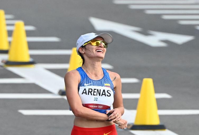 Sandra Lorena Arenas, plata en los Juegos Olímpicos