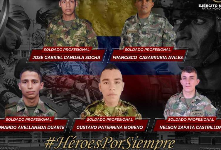 Militares asesinados en Córdoba.