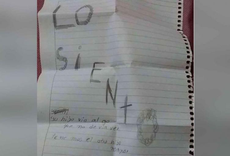 Carta menor muerto
