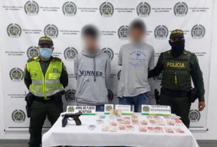 Fleteros que tenían casa por cárcel los cogieron de nuevo robando en Itagüí