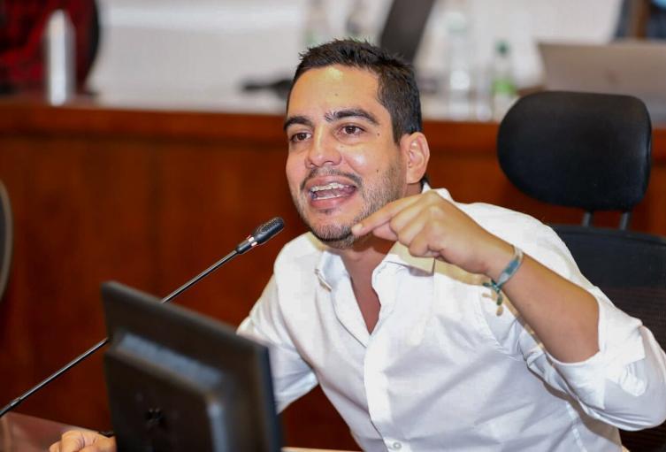 Concejal de Medellín, Álex Flórez.