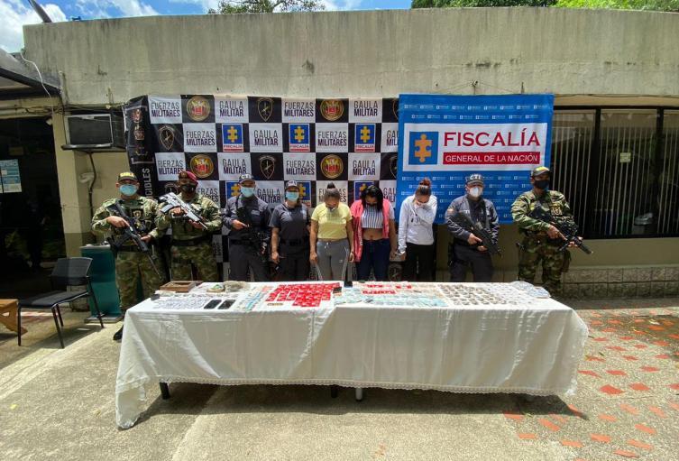 Capturados en Antioquia.