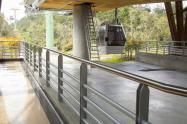 Estación de Metrocable en Medellín.