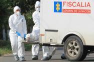 A prisión habitante de calle que arrojó un cadáver desde una carretilla en Medellín