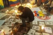 Protesta por asesinato de líderes sociales