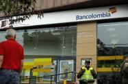 La entidad bancaria esta ubicada en un importante sector de la avenida Santander de Manizales