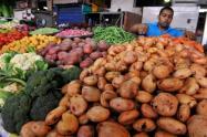 Mercado y plaza colombiana