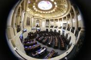 Lidio García, presidente del Senado, dijo que si existe la voluntad política de los congresistas, sería fácil tramitar una reforma constitucional.