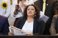 Senadora Angélica Lozano.