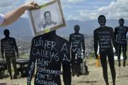 Referencia personas desaparecidas en la Comuna 13 de Medellín.