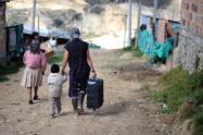 Desplazados en Colombia