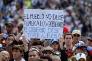 Protestas de la oposición en Venezuela contra Nicolás Maduro