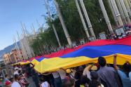 Marcha Venezolanos Medellín