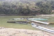 Río Cauca, a la altura de Puerto Valdivia (Antioquia)