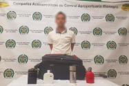 El nerviosismo de este pasajero despertó las sospechas de los policías en el aeropuerto