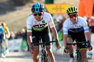 Egan Bernal durante una de las etapas de la Vuelta a Cataluña