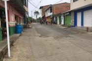 Población de Cáceres, en el Bajo Cauca antioqueño