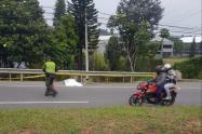 Un ciclista murió en accidente de tránsito en el Oriente antioqueño.