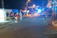 Asesinaron a un joven a pocas cuadras del cementerio en Bello