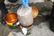 La droga fue hallada en varios ejes viales del departamento  de Antioquia