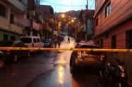 El ataque se presentó en el barrio San Javier