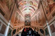 El Vaticano abre la original Escalera Santa por primera vez en 300 años