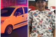 El conductor fue asesinado dentro del automotor.